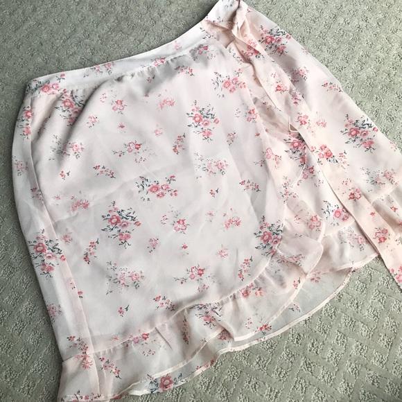 🍋Sale! 2/20 Ann Taylor LOFT floral mini skirt-4